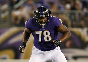 The Ravens need a left tackle with Bryant Mckinnie headed to free agency.