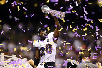 Ed Reed could have played his last game with the Ravens in the Super Bowl.