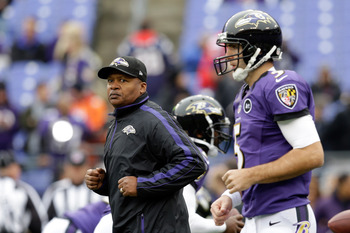 The Baltimore Ravens were a different team once Jim Caldwell was promoted.