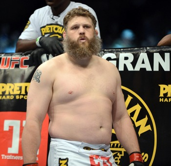 Pictured: Roy Nelson