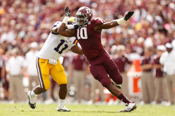 Porter quickly earned Von Miller comparisons while at Texas A&M.