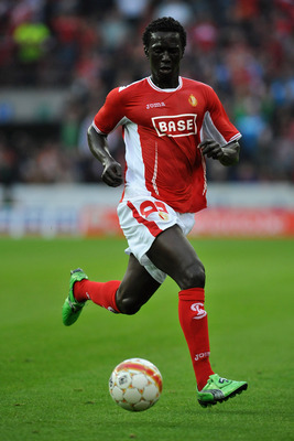Striker Mbaye Leye joined SV Zulte Waregem from Standard Liege.