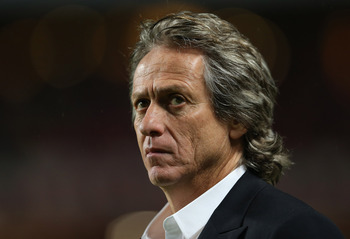 Jorge Jesus has guided Benfica to an unbeaten league run this season.