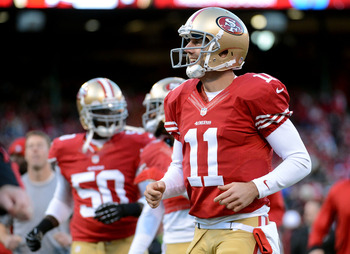 The 49ers may be able to bring in a decent pick in the 2013 draft in exchange for Alex Smith.