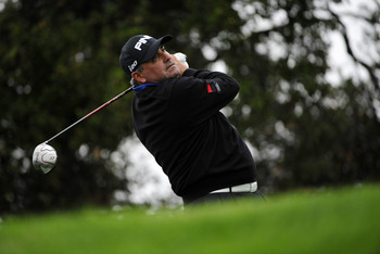 Angel Cabrera figured to be a bigger factor after his hot start.