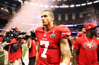Even in defeat, 49ers QB Colin Kaepernick rocks the bad-boy swagger that makes the ladies swoon.