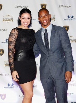Victor Cruz's rise to stardom has him sharing the red carpet with pop stars like Jordin Sparks.