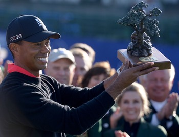 Tiger seems to be getting his swagger back after he kicked off the 2013 PGA season with a victory.