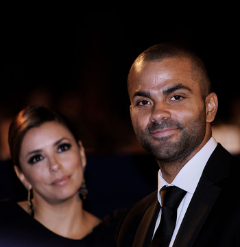 Tony Parker with ex-wife Eva Longoria at a 2010 White House dinner.