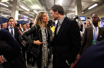 Ladies might want to think twiuce before making a move on Gisele Bundchen's husband Tom Brady