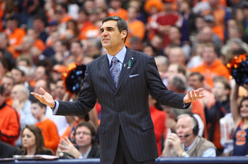 Jay Wright and the Wildcats have been up and down all season.