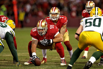 49ers center Jonathan Goodwin had a decent, if not stellar 2012.