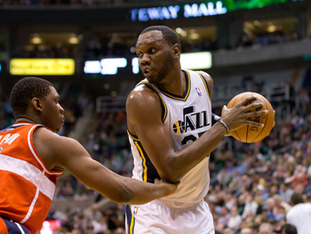 Al Jefferson's contract is up at the end of the season.