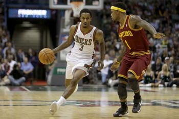 Brandon Jennings will be a restricted free agent this summer.