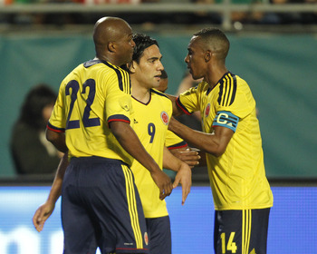 Radamel Falcao will be a key man for Colombia at World Cup 2014