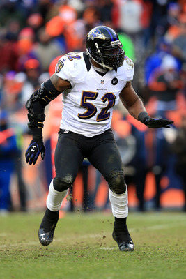 Ray Lewis and the Ravens D made a critical goal line stand