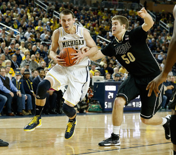 Nik Stauskas will be a serious contender for Big Ten Freshman of the Year come season's end.