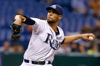 One of the key strengths of the Rays in 2013: David Price