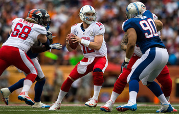 Andrew Luck made the Pro Bowl after a spectacular rookie season.