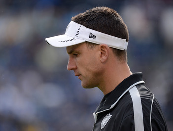 It wasn't a great first season for head coach Dennis Allen.