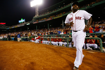 David Ortiz is back in Boston.