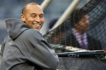 Who can resist that smile? No wonder the ladies love Jeter.