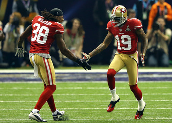 Dashon Goldson and Ted Ginn Jr. are both free agents in 2013.