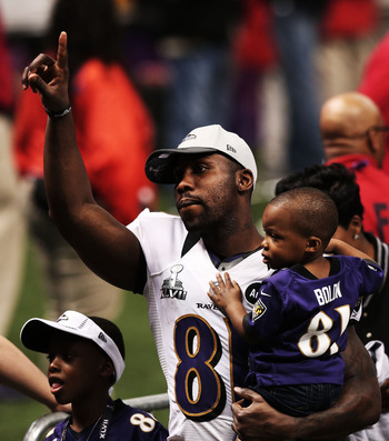 Boldin is one of a number of aging Raven players well past the age of 30.