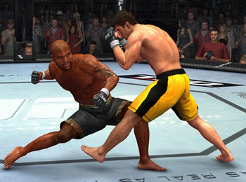 Rampage Jackson in UFC 2009: Undisputed (via THQ)