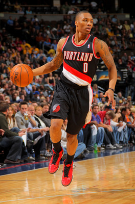 Lillard has also become a good distributor of the ball.