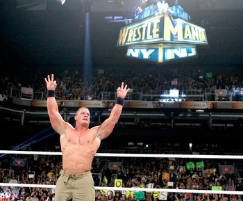 Cena, again, will find himself in the title picture during WrestleMania. Photo Courtesy of WWE.com