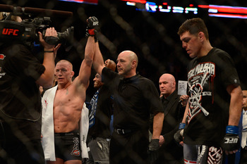 This loss to Georges St-Pierre could have been the end for Nick Diaz.