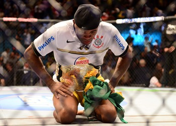 Anderson Silva's middleweight strap technically belongs to Zuffa.