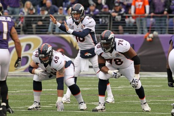 The Broncos need to sign Ryan Clady to protect Peyton Manning.