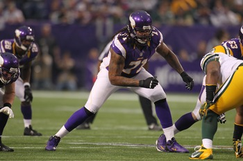 Phil Loadholt could get a franchise tag in 2013.