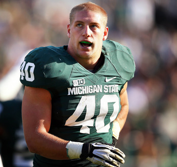 Max Bullough will headline yet another talented Michigan State defense.