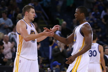 Harrison Barnes and David Lee: key pieces of the Warriors puzzle