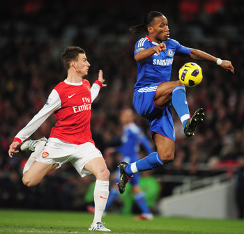 Didier Drogba vs Arsenal