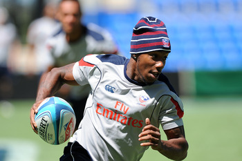Ohio's Carlin Isels is considered the fastest man in world rugby.