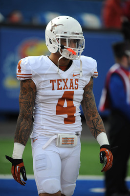 Texas safety Kenny Vaccaro is a possible draft target.