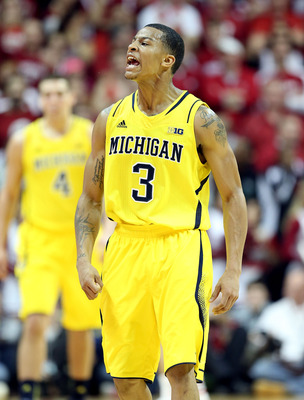 Burke commands and leads the Michigan Wolverines with poise rarely seen in such a young player.