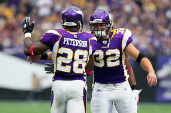 With Toby Gerhart and Adrian Peterson, Minnesota should be able to utilize the halfback screen more often and possess a stronger play-action passing atack.