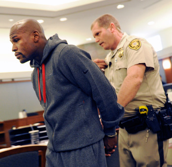 Mayweather has been in jail two months and is a year removed from the ring.
