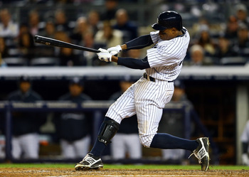Granderson's inconsistency and high pay will likely get him moved.