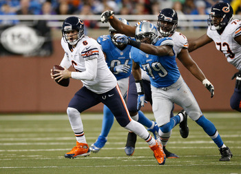 Jay Cutler and the Bears offense needs to improve if the team wants to contend.