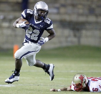 RB Tyshon Dye. Courtesy IndependentMail.com