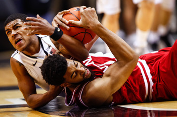 Turnovers are a problem for the Hoosiers.