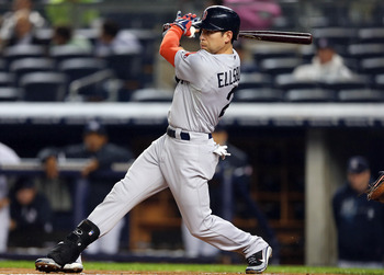 Though his value is low, the Red Sox should have traded Jacoby Ellsbury.