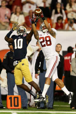 Milliner defended two passes in the BCS National Championship Game against Notre Dame.