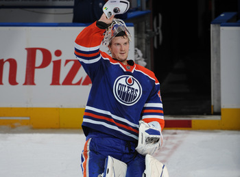 The Oilers have been patient with Dubnyk and look intent on giving him the opportunity to succeed.